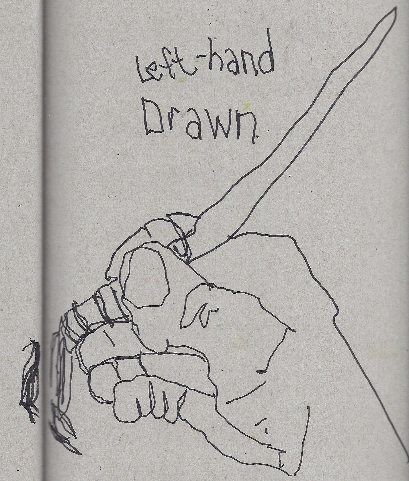 Demo of non-dominant hand